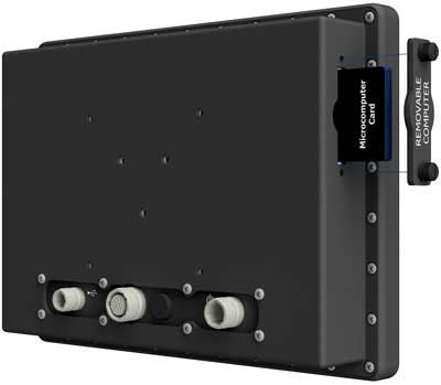 All-Weather IP67 Removable Computer Rear Panel