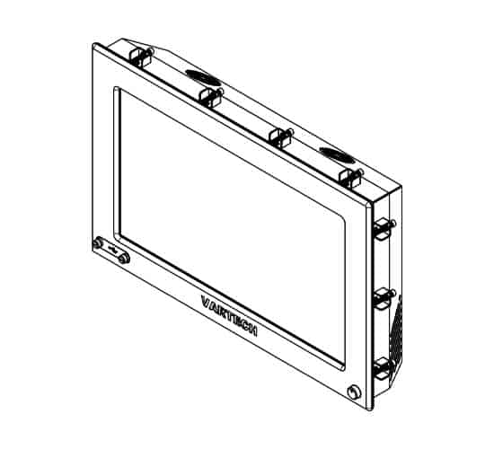 DV4 Panel Mount with Clips