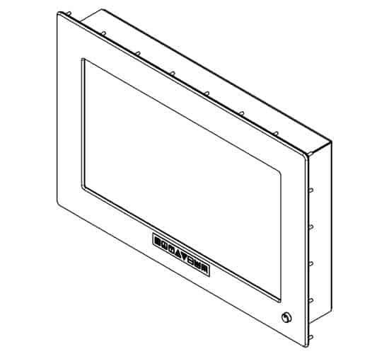 TS3 Panel Mount with Studs
